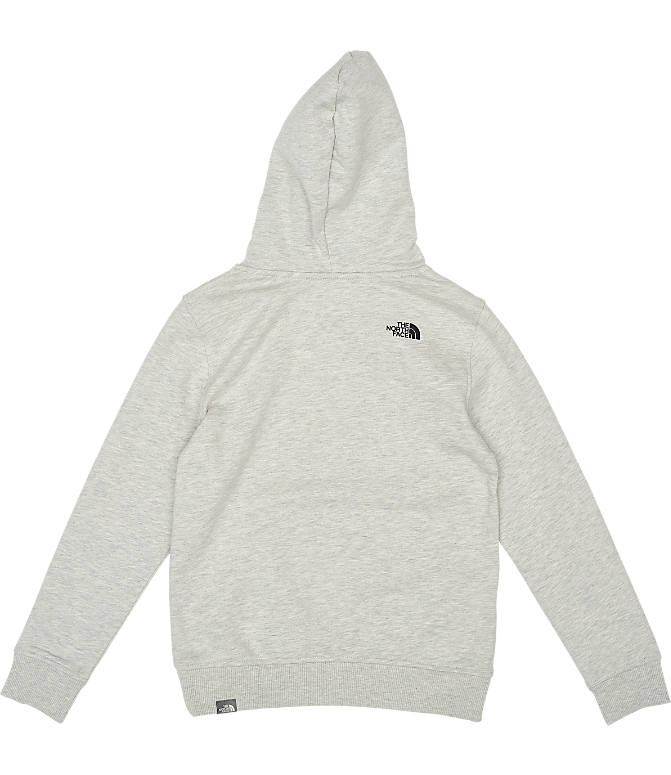 Product 4 view of Boys' The North Face Box Logo Hoodie in Oat/Heather