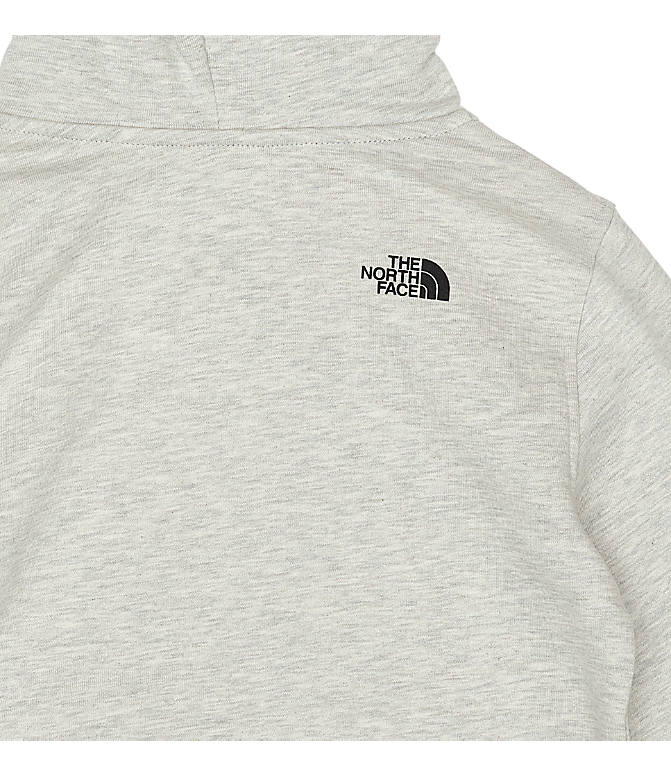 Product 5 view of Boys' The North Face Box Logo Hoodie in Oat/Heather
