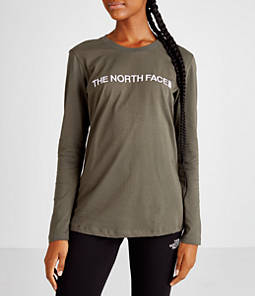 Women's The North Face Logo Long-Sleeve Shirt