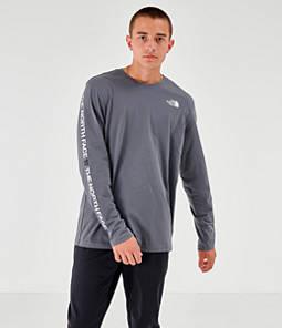 Men's The North Face Text Sleeve Logo Long-Sleeve T-Shirt