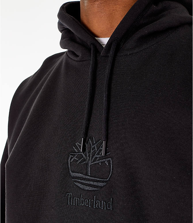 Detail 1 view of Men's Timberland Oversized Hoodie in Black