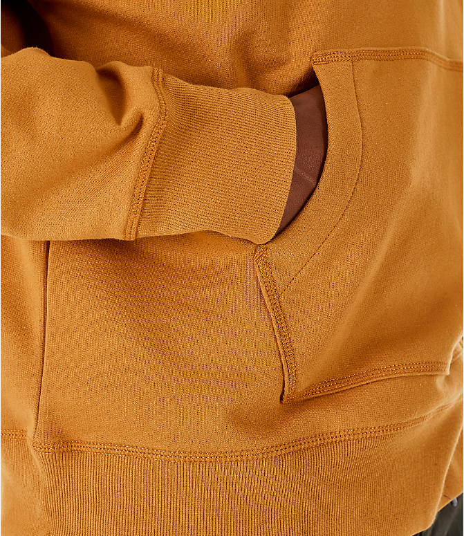 Detail 2 view of Men's Timberland Oversized Hoodie in Wheat