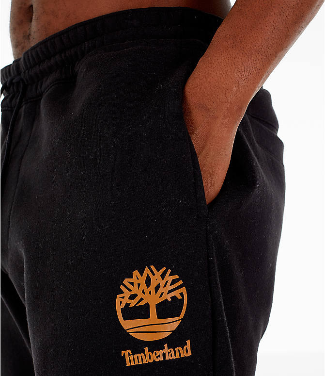 Detail 1 view of Men's Timberland Jogger Sweatpants in Black