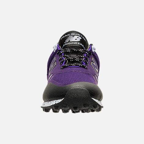 Front view of Men's New Balance Trailbuster Casual Shoes in Purple/Lilac