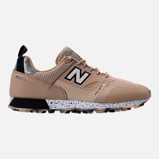 Right view of Men's New Balance Trailbuster Re-Engineered Casual Shoes in  Incense/Black