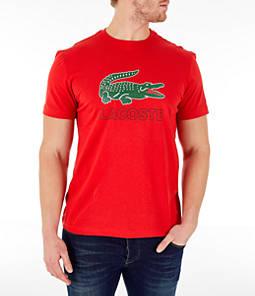 Men's Lacoste Big Croc Script T-Shirt