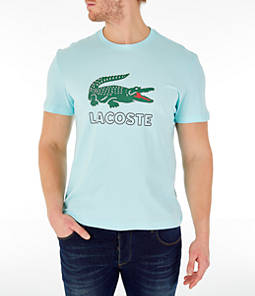 Men's Lacoste Big Croc Script T-Shirt