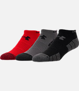 Men's Under Armour 3-Pack Elevated Performance No-Show Socks