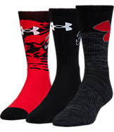 Men's Under Armour SC30 Phenom 3-Pack Crew Socks
