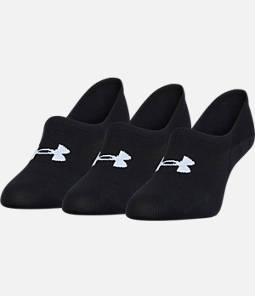 Women's Under Armour 3-Pack Footie Socks