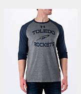 Men's Under Armour Toledo Rockets College Charged Tri-Blend Henley Shirt