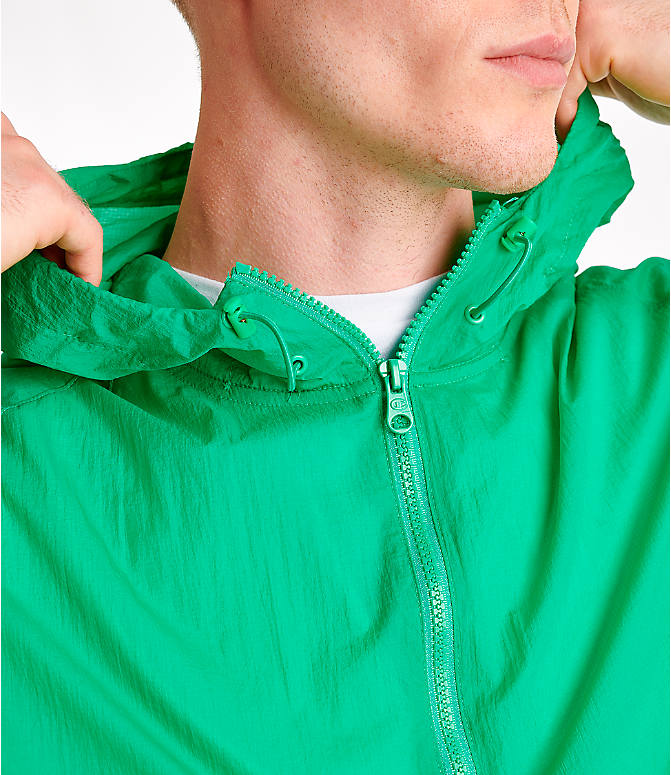 Detail 2 view of Men's Champion Manorak Windbreaker Jacket in Green Myth