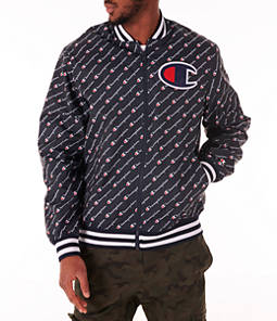 Men's Champion Satin Baseball Jacket