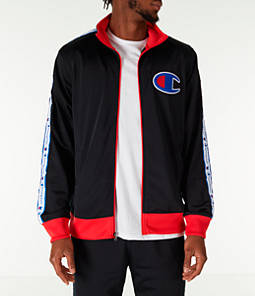 Men's Champion Side Tape Track Jacket