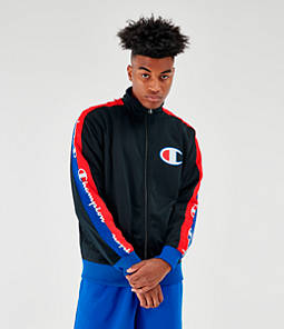 Men's Champion Poly Tape Track Jacket
