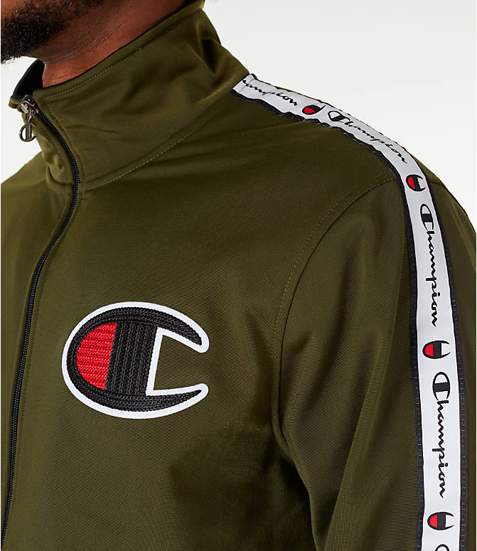 Detail 2 view of Men's Champion Side Tape Track Jacket