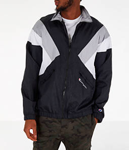 Men's Champion Nylon Colorblock Track Jacket