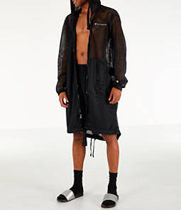 Men's Champion Mesh Hooded Trench Coat