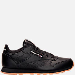 Big Kids' Reebok Classic Leather Gum Casual Shoes