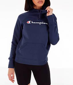 Women's Champion Powerblend Script Logo Hoodie