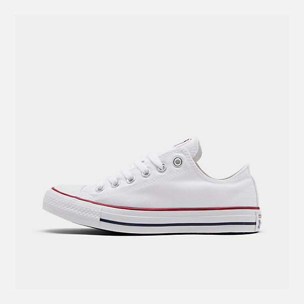 Right view of Women's Converse Chuck Taylor Low Top Casual Shoes in Optical White