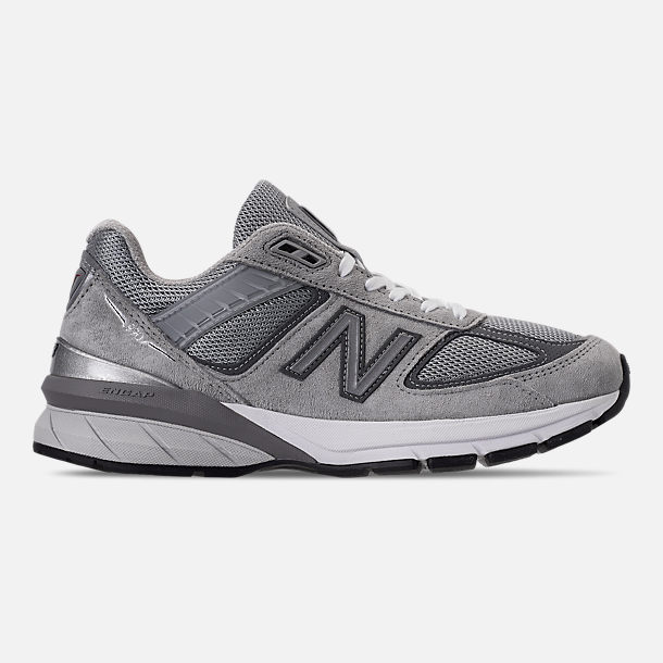 Right view of Women's New Balance 990 V5 Casual Shoes in Grey/Castle Rock
