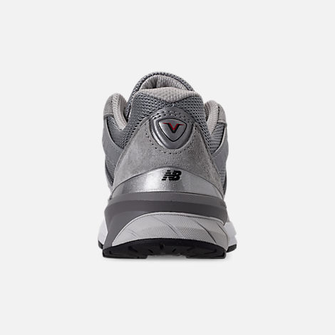 Back view of Women's New Balance 990 V5 Casual Shoes in Grey/Castle Rock