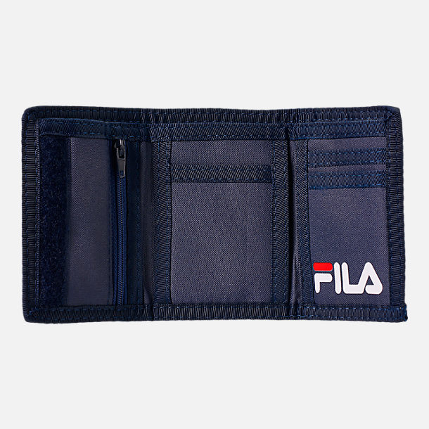 Front view of Fila Allover Print Wallet