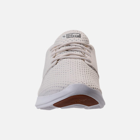 Front view of Women's New Balance Coast V3 Running Shoes in Off White
