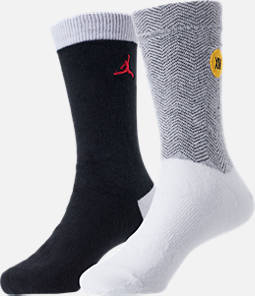Kids' Air Jordan Retro 14 2-Pack Crew Socks