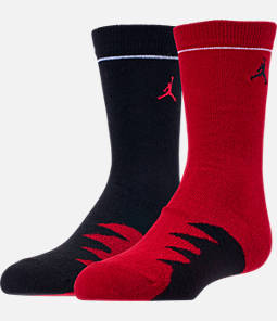 Kids' Air Jordan Shark Tooth 2-Pack Crew Socks