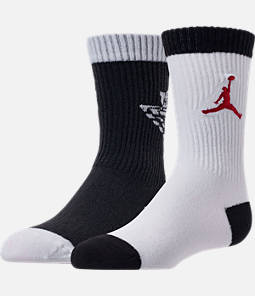 Kids' Air Jordan 1 Retro 2-Pack Crew Socks