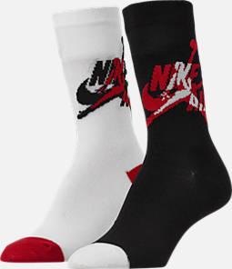 Kids' Air Jordan 2-Pack Crew Socks