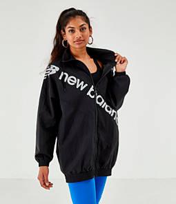 Women's New Balance Optiks Windbreaker Jacket