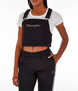 Women's Champion Superfleece Overall Bib Crop Top