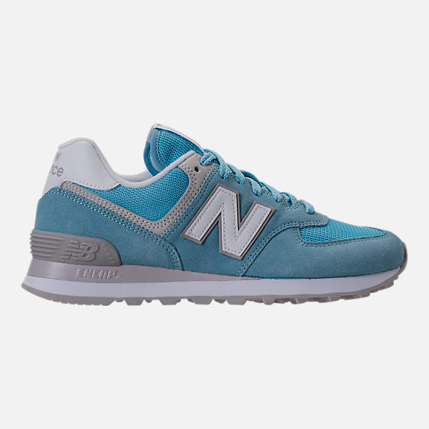 Right view of Women's New Balance 574 Backpack Casual Shoes in Clear Sky