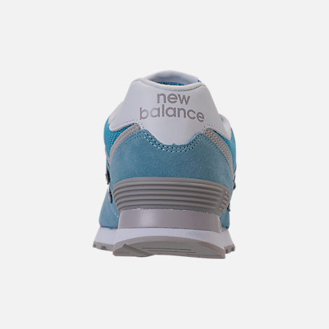 Back view of Women's New Balance 574 Backpack Casual Shoes in Clear Sky