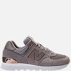 Women's New Balance 574 Rose Gold Casual Shoes