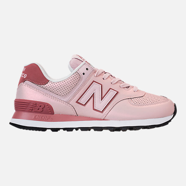 Right view of Women's New Balance 574 Iridescent Casual Shoes in Conch Shell