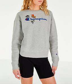 Women's Champion x The Powerpuff Girls Reverse Weave Crewneck Sweatshirt