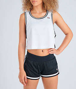 Women's Champion Life Reversible Mesh Crop Tank