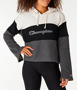 Women's Champion Reverse Weave Blocked Hoodie