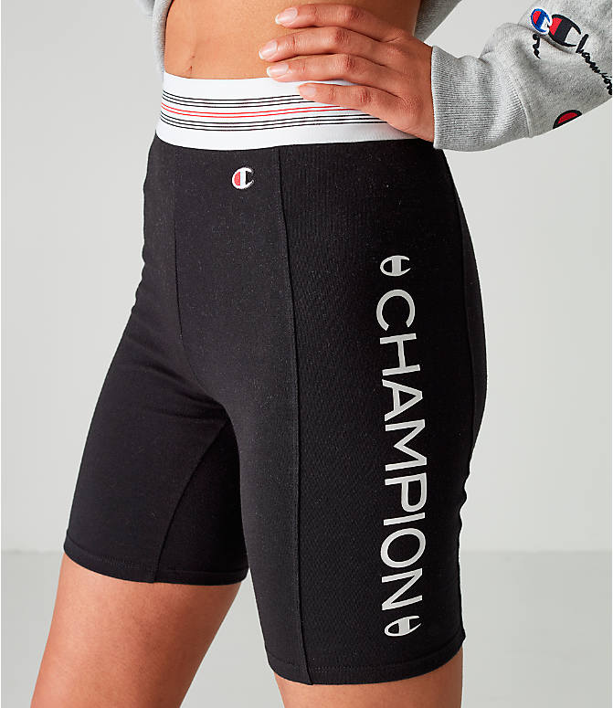 51a192ab24cd Detail 1 view of Women s Champion Power Cotton Bike Shorts in Black