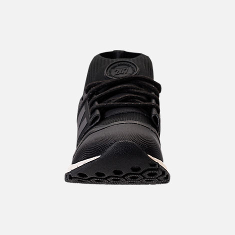 Front view of Women's New Balance 247 Mid-Cut Casual Shoes in Black