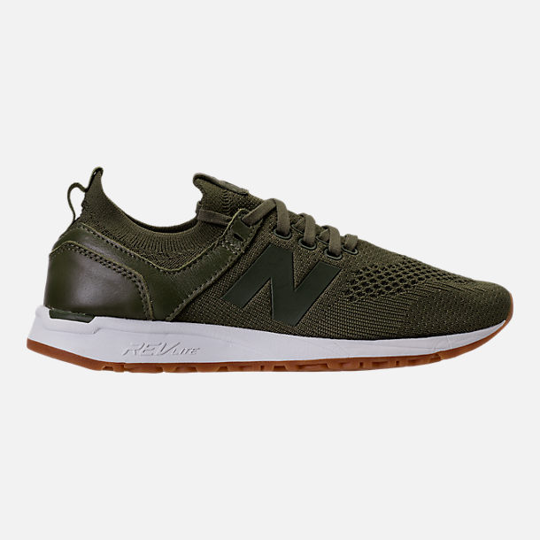 Right view of Women's New Balance 247 Decon Casual Shoes in Trench
