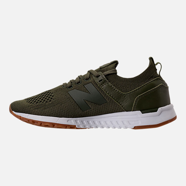 Left view of Women's New Balance 247 Decon Casual Shoes in Trench