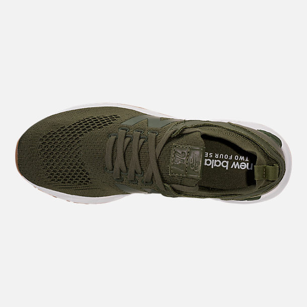 Top view of Women's New Balance 247 Decon Casual Shoes in Trench