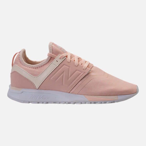Right view of Women's New Balance 247 Casual Shoes in Cream Tan/Dew