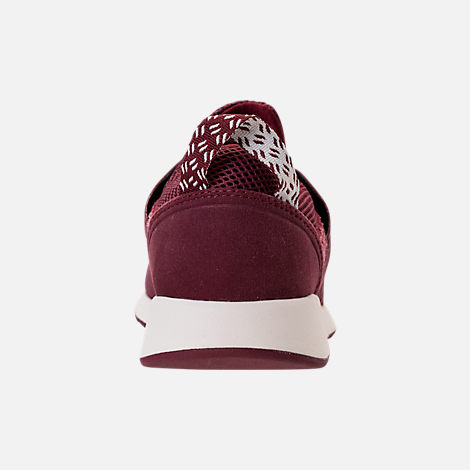 Back view of Women's New Balance 420 Slip-On Casual Shoes in Burgundy