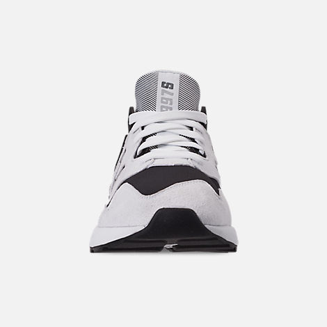 Front view of Women's New Balance 997 Sport Casual Shoes in White/Black